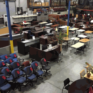 Louisville office furniture showroom