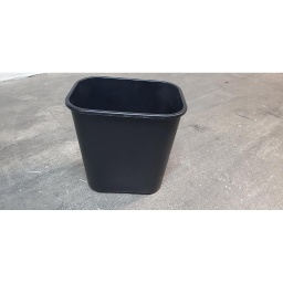 Black Rubbermaid Trash Cans