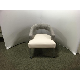 Conf. Room chairs w/gray & ivory fabric - List $1152