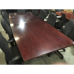 10' mahogany conference table
