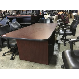 6' mahogany conference table