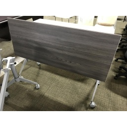Euroline 24x60 Grey Nesting Wheeled Training Table