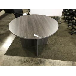 "[RT48] Euroline 48"" Round Table Grey"