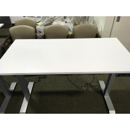 Euroline 30x60 Sit Stand Electric Desk White