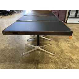 "30x54"" Writing desk with glass top"